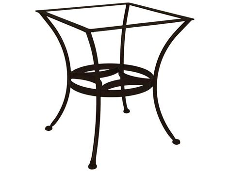 Ow Lee Wrought Iron Dining Round Table Base Dt03 Base Patio Table Bases