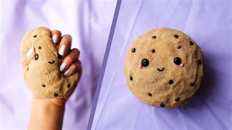 Chocolate Squishy diy kawaii chocolate chip cookie squishy