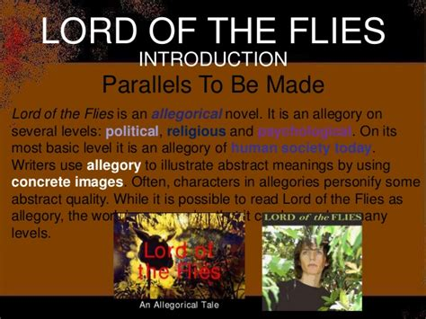 Possible Essay Topics For Lord Of The Flies by Lotf Test Review