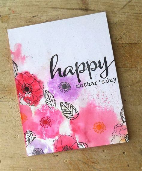 Mother S Day Gift Card Ideas - ideas for mother s day cards homemade mothers day greeting card ideas family holiday