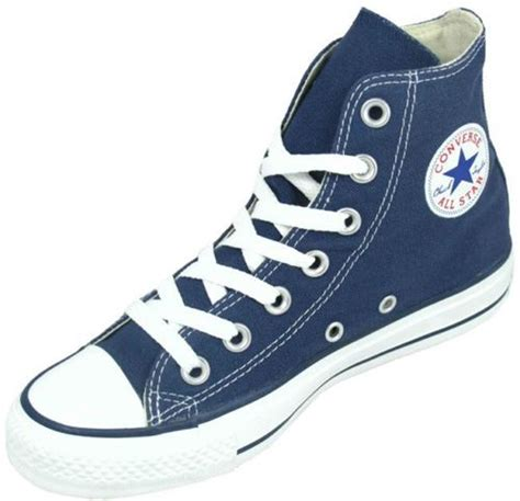 Sneakers Trainer Navy Footstep Footwear converse all hi canvas new pumps trainers shoes navy blue size 3 11 ebay
