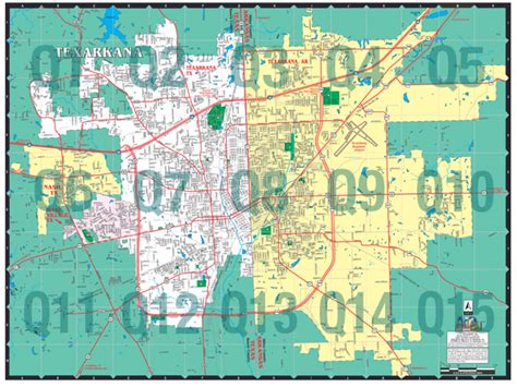 map of texarkana texas map of texarkana aphisvirtualmeet