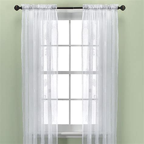 croscill sheer curtains croscill 174 sanibel island sheer window curtain panel in