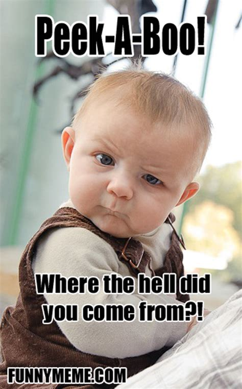 Skeptical Baby Meme - skeptical baby meme 5 dump a day