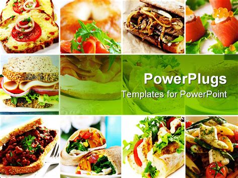 free food powerpoint template food templates for