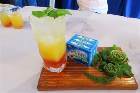 membuat minuman segar  laris  buah erela