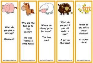 farm animal jokes bookmarks