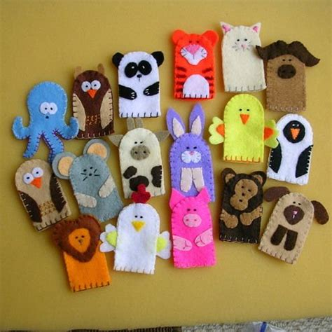How To Make Handmade Puppets - 25 best ideas about finger puppets on puppets