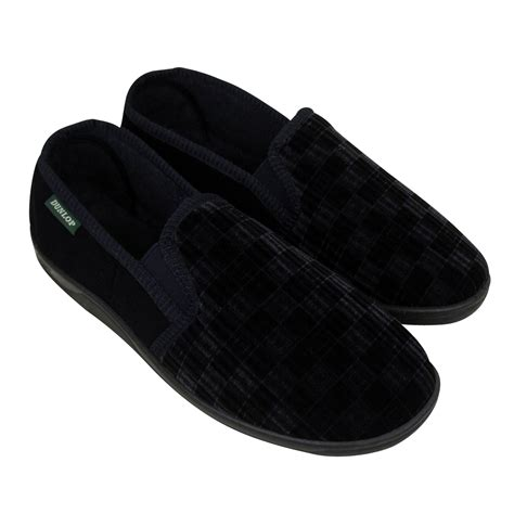 boys size 6 slippers boys dunlop classic luxury gusset slipper gents