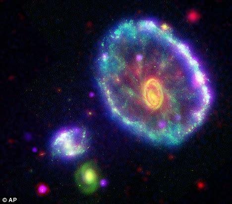 500 Light Years by Cartwheel In The Sky The Kaleidoscopic Galaxy 500million