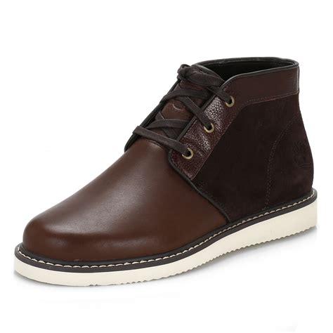 comfortable chukka boots timberland mens boots brown newmarket chukka lace up