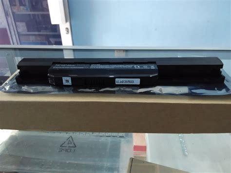 Baterai Laptop Asus A43s jual baterai laptop asus a43 a43e a43s k43u x44 x44h