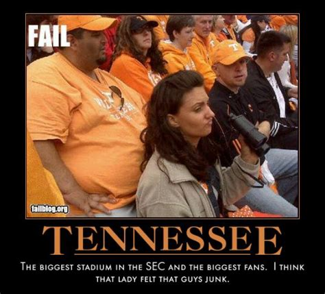 Tennessee Football Memes - sec demotivational posters tiger boards archive forum