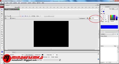 tutorial membuat jam flash cara membuat jam dinding dengan flash minahesemka