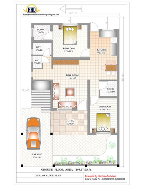 house plans ideas 2 bedroom house designs in india