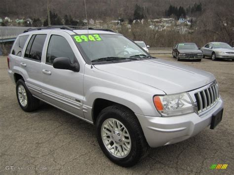 2004 jeep grand silver bright silver metallic 2004 jeep grand limited