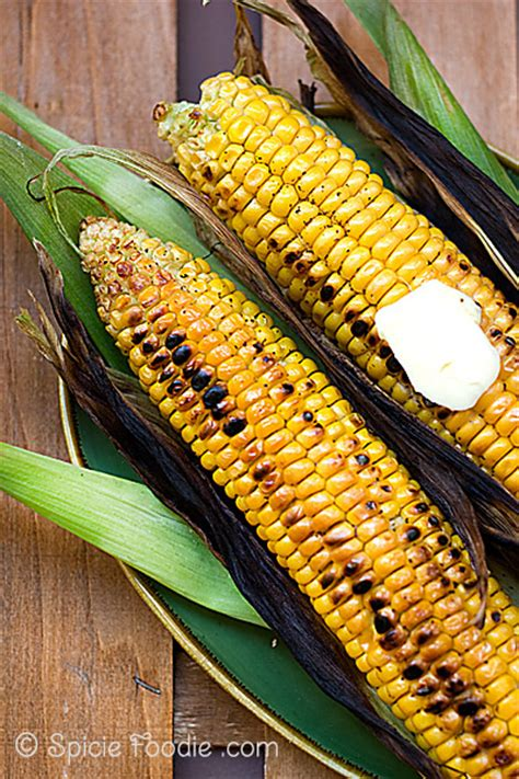 how to grill corn on the cob spicie foodie
