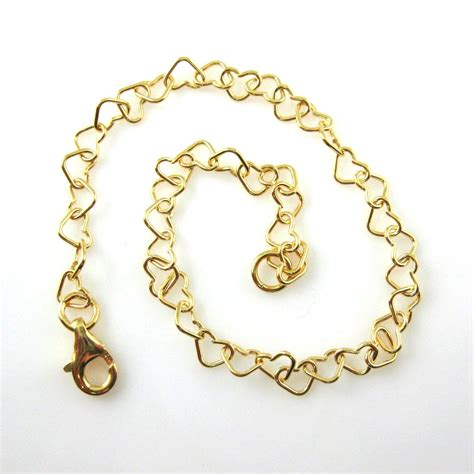 Wholesale Gold Plated Sterling Silver Shaped Chain