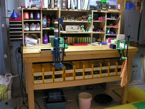 reloading bench layout reloading table thread let s see your reloading bench