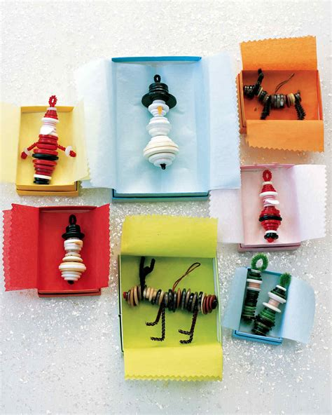 martha stewart easy christmas crafts diy ornament projects martha stewart