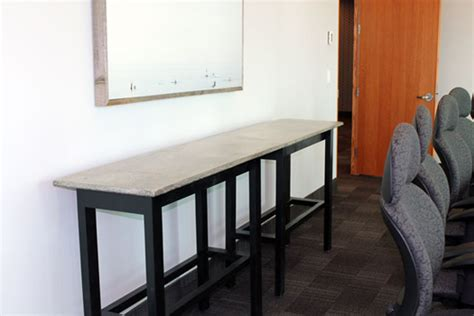 room board home furnishings concrete board room tables tuscany concrete by design