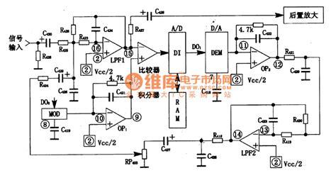 digital image processing integrated circuit pt2399 digital reverb processing integrated circuit other circuit lifier circuit