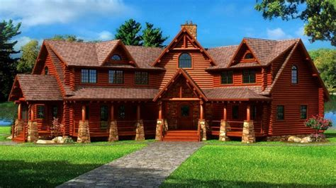 log home mansions cedar log cabin homes million dollar log cabins mansions