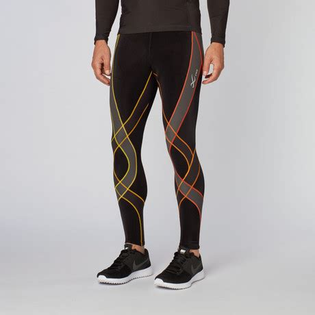 Compression Tight Cw X Generator Size M cw x endurance generator tights black orange s cw x conditioning wear touch of modern