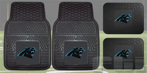 carolina panthers truck floor mats carolina panthers nfl heavy duty vinyl 2 pc 4 pc floor