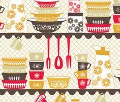 1000 images about retro kitchen fabrics on