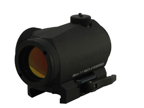 Micro Aimpoint T1 Low Black aimpoint micro t 1 sniper quickfire dot sight 4 moa