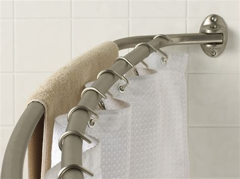 shower curtain bar curved double curved shower rod manufacturers yeker co ltd