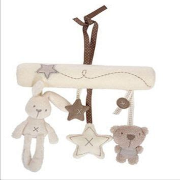 Happy Monkey Rattle Stroller Crib Accesory Rabbit best baby cot mobiles products on wanelo