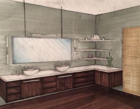 interior  point perspective bathroom rendering chrisp