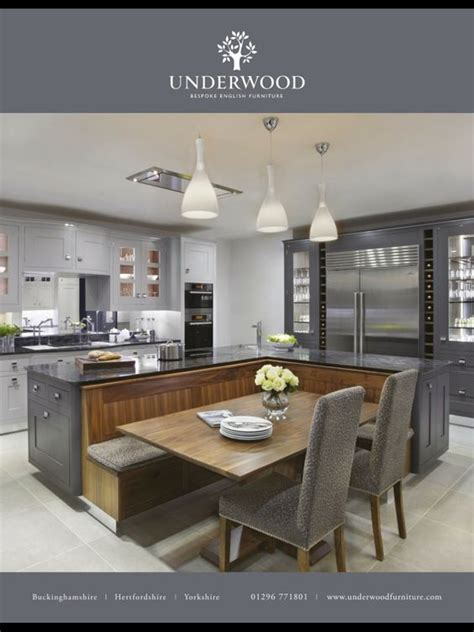 kitchen island with integrated dining table kitchen island pinterest the world s catalog of ideas
