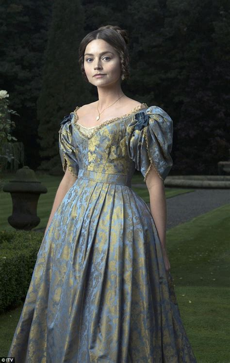 young queen victoria jenna coleman transforms into young queen victoria for itv