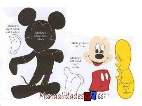 moldes de mickey en goma eva imagui distintos mickey en goma eva imagui