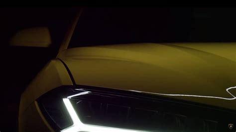 Lamborghini Teaser Lamborghini Urus New Teaser Photo