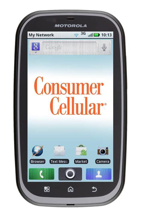 consumer cellular bravo cell motorola bravo smartphone