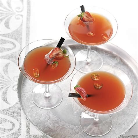 martini strawberry strawberry chile martini recipe eatingwell