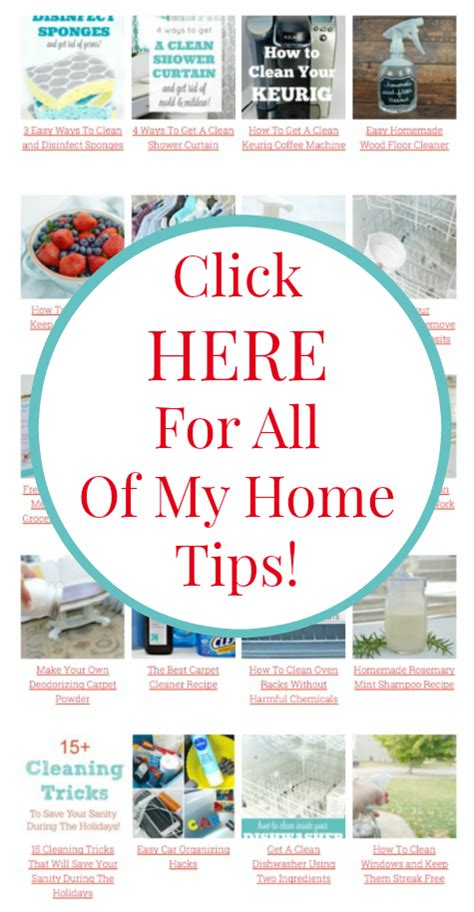 home tips free printable cleaning labels mom 4 real