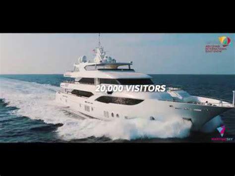boat show in abu dhabi abu dhabi international boat show 2018 promo youtube