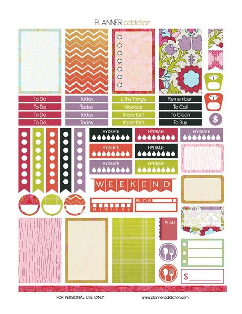 happy planner printable free 1000 images about smarts planner love on pinterest