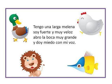 adivinanzas infantiles adivinanzas de ninos 17 best images about adivinanzas on
