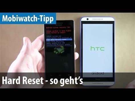 reset android handy android archos handy komplett zur 252 cksetzen hardreset in