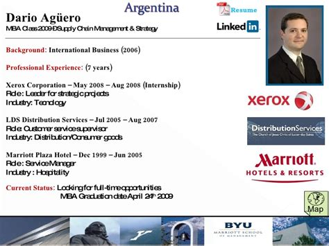 Xerox Mba Internship by 2009 2010 Cis Profiles