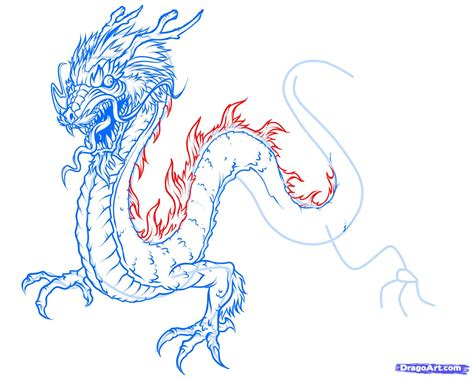how to draw a japanese dragon step by step dragons draw