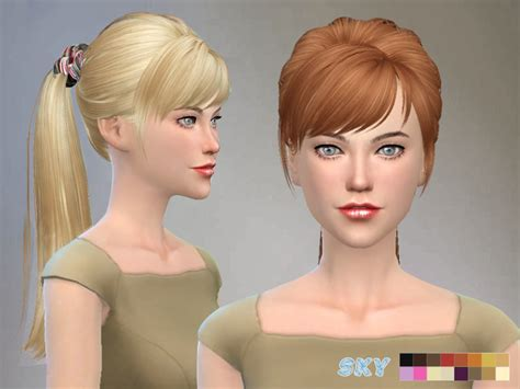 Hairstyles For Adults Hair by Skysims Hair 115