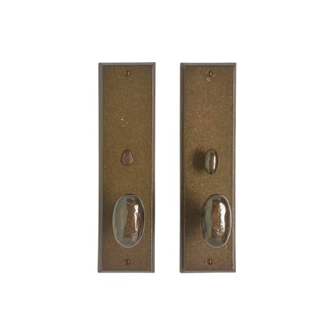 Interior Door Knob Sets by Rectangular Privacy Set 3 1 2 Quot X 13 Quot Privacy Mortise