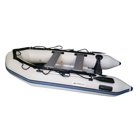 inflatable boat with wood floor inflatable boat ozeam 300 with 3 meters of length